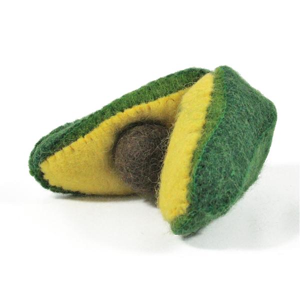 Légumes en laine feutrée - Avocat