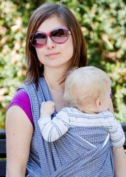 Echarpe de portage Tissée - Echarpe portage bébé - Maman Natur elle 9230c9a713d
