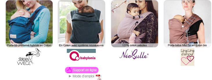Très léger, c est un porte-bébé très apprécié des parents non désireux  d adopter une écharpe. 78377e2fdd3