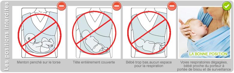 check-out Achat/Vente nouveaux styles Comment porter bébé en toute sécurité avec une écharpe de ...