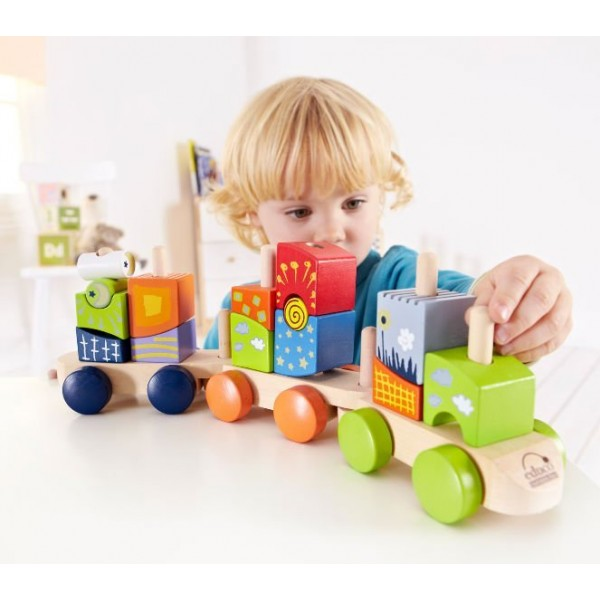 Blocs train fantaisie E0417