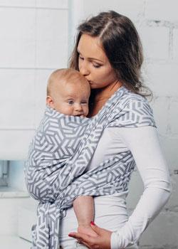 0cba7141915 Echarpe de portage Tissée - Echarpe portage bébé - Maman Natur elle