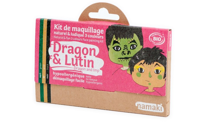 Kit de Maquillage 3 couleurs Dragon et Lutin NAMAKI