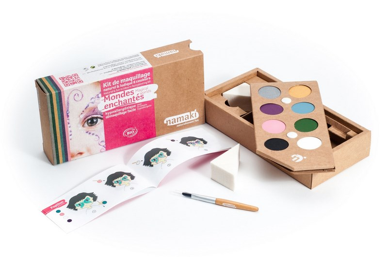 Kit de Maquillage 8 couleurs Mondes enchantés NAMAKI