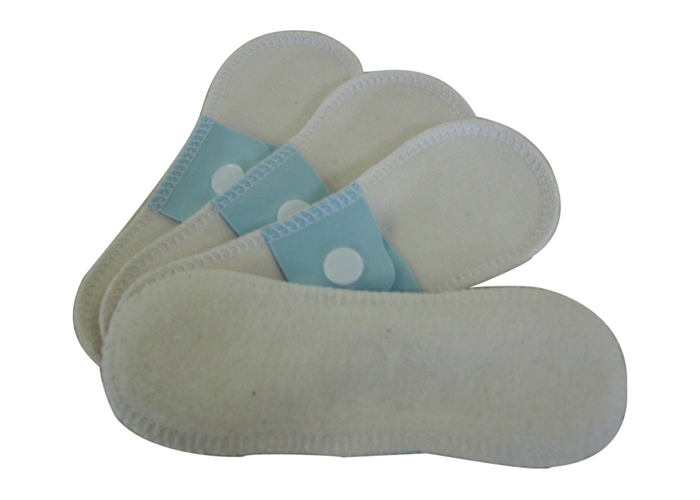 Lot de 4 Mini protège-slips Coton Bio LULU NATURE