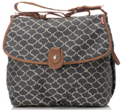 Sac à langer Satchel Wave Grey