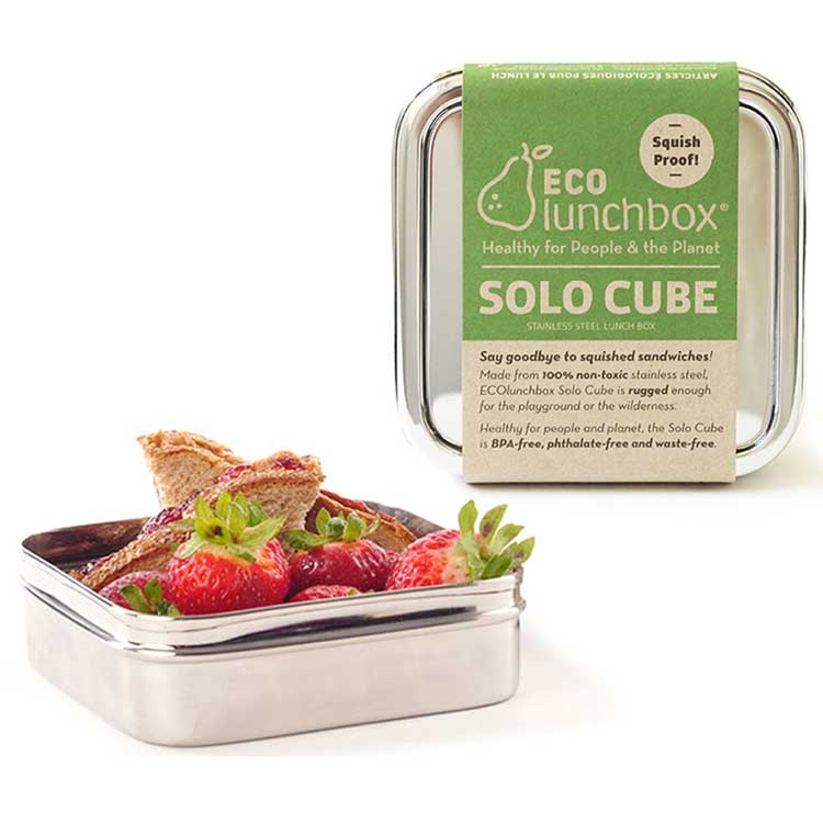 Lunch Box Inox solo cube