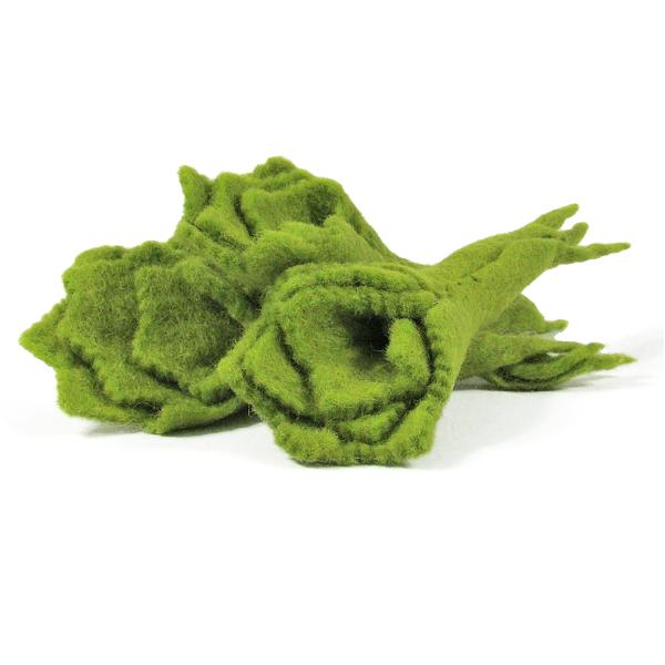 Mini légumes en laine feutrée - 3 salades
