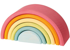 Arc en ciel de construction Pastel - moyen