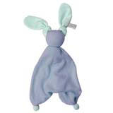 Doudou Floppy Deep blue/fresh mint HOPPA