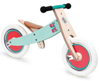 Draisienne en bois EVOLUTIVE Papillons SCRATCH EUROPE