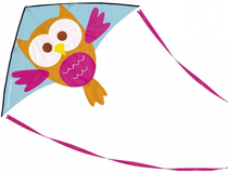 Cerf-volant Hibou SCRATCH EUROPE