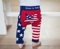 Leggings BLADE & ROSE USA Flag