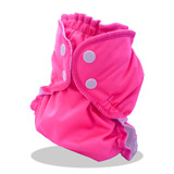 Couche lavable APPLECHEEKS Fluo Rose - Multi-taille
