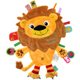 Doudou étiquettes Friends Lion LABEL LABEL