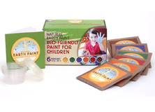 Grand kit peinture naturelle pour enfants Natural Earth Paint
