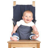 Chaise Nomade bébé TOTSEAT Silver bound Denim