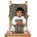 Chaise Nomade bébé TOTSEAT Chocolate