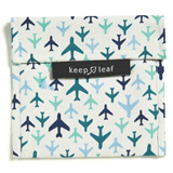 Pochette lavable large - Avion KEEP LEAF