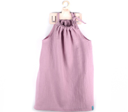 Robe en mousseline Dusty Rose TITOT