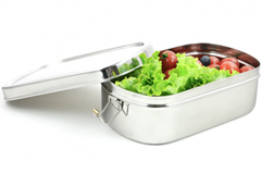 Lunch Box Inox Big Ovale - JOLI MONDE