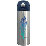 Mug isotherme en inox collection trendy Plume Bleue