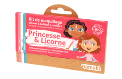 Kit de Maquillage 3 couleurs Princesse et Licorne
