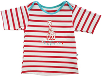 Tee-shirt Mixte Anti UV Sophie la Girafe Saint Malo MAYOPARASOL