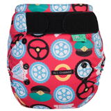 Couche lavable TE2 - PEENUT - Taille Unique (3.5-15kg) - Wheels on the bus