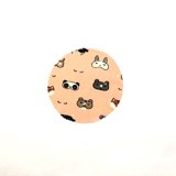 Emballage réutilisable rond S Animaux Kawaii SLOW&CO