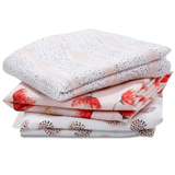Lot de 3 petits Langes en mousseline de coton Picked for you
