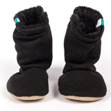 Bottines souples bébé Black