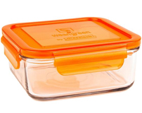 1 Pot de Conservation en verre trempé 850ml Carrot