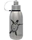 Gourde en inox collection friendly Tortue noire