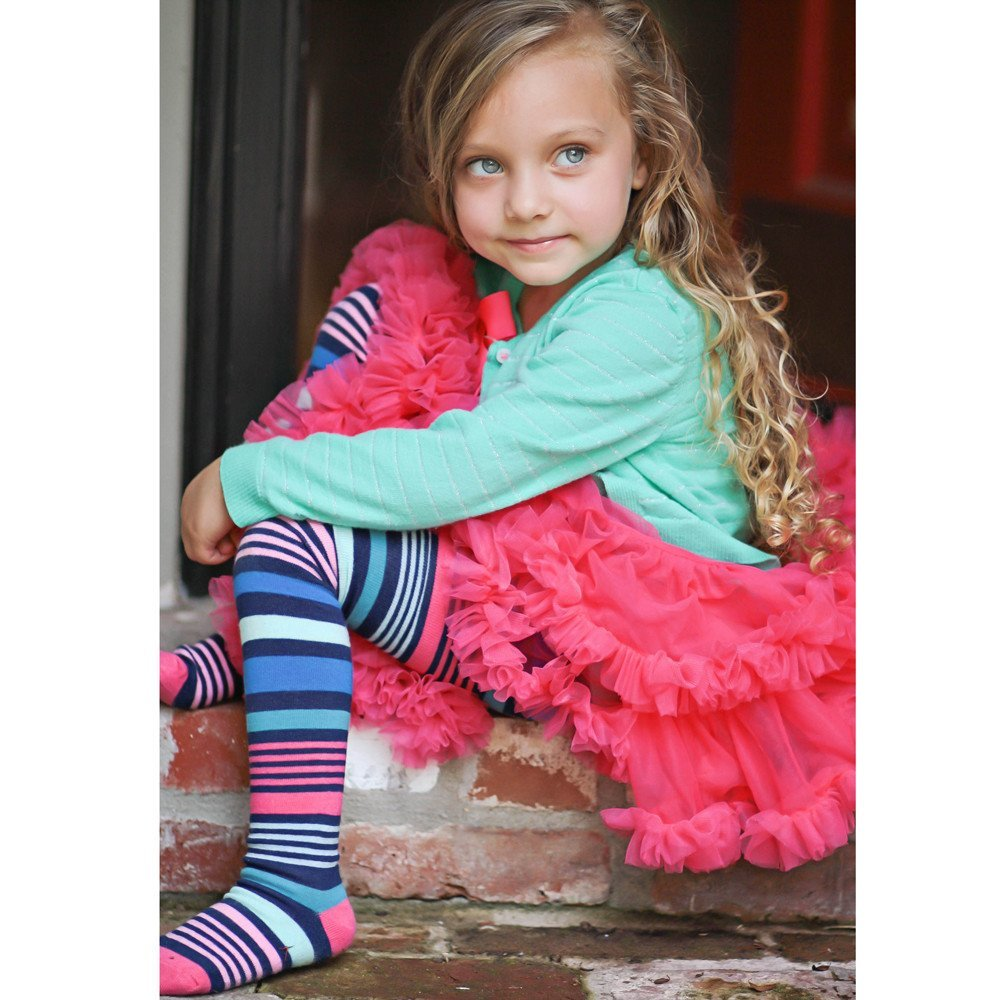 Collants Striped HUGGALUGS en COTON 2-4 ans