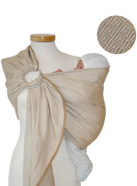 Ring Sling LEO NATURE STORCHENWIEGE