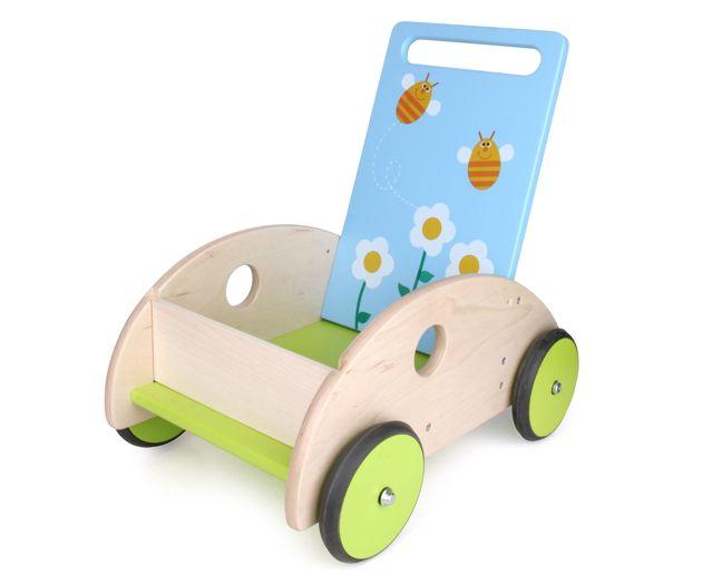 chariot de marche fleurs et abeilles scratch europe maman natur 39 elle. Black Bedroom Furniture Sets. Home Design Ideas