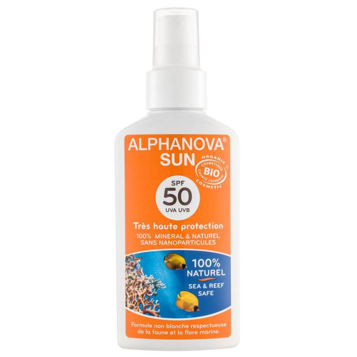 Spray solaire Adulte ALPHANOVA SUN SPF 50