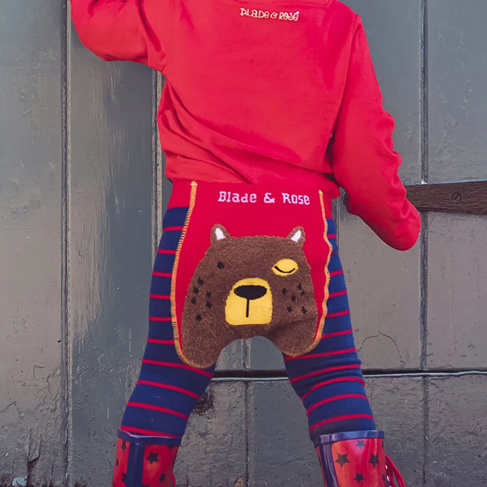 Leggings Big Brown Bear