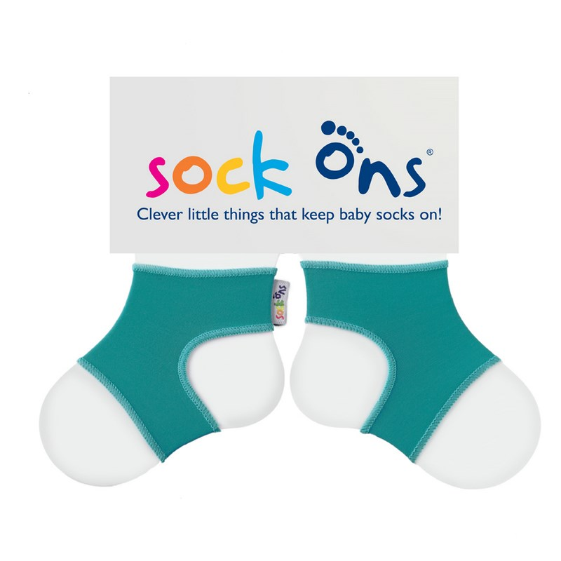 Gu�tres Magiques SOCK'ONS Turquoise 0-6 mois