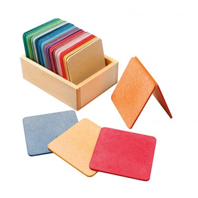 Lot de tapis de construction multicolores GRIMM'S