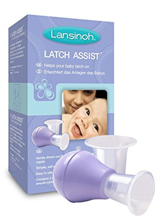 Poire forme mamelon Latch'Assist LANSINOH