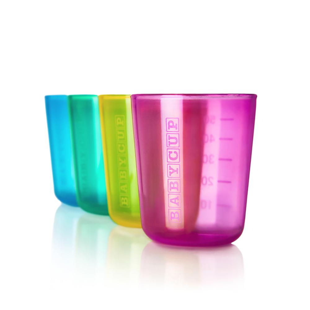 Premières tasses - Lot de 4 - Multicolore