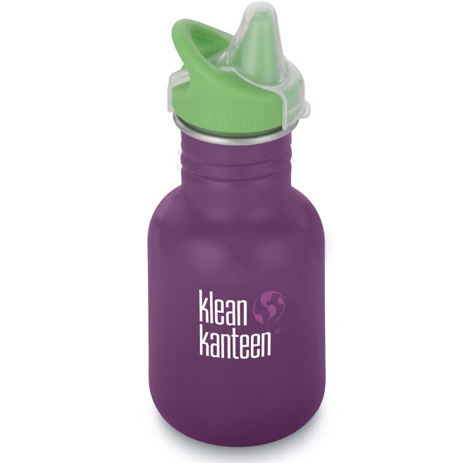 Gourde Inox Sippy Winter Plum bouchon Sippy (355ml) KLEAN KANTEEN