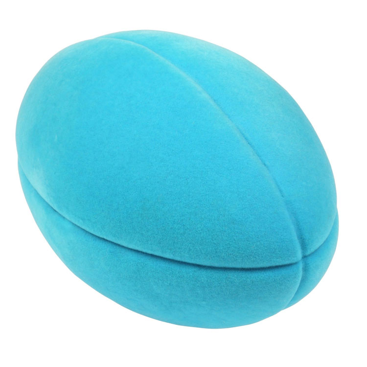 Balle de Sport Rugby Turquoise