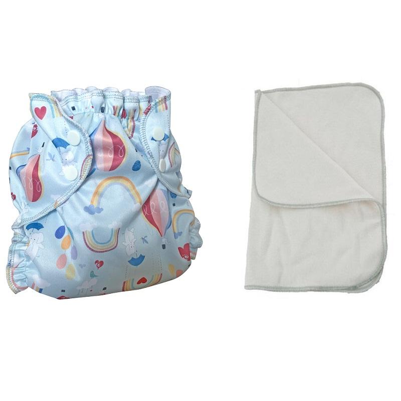 Kit couche lavable  - ENFANT - Taille 3 (14-30kg) -  Way Up High