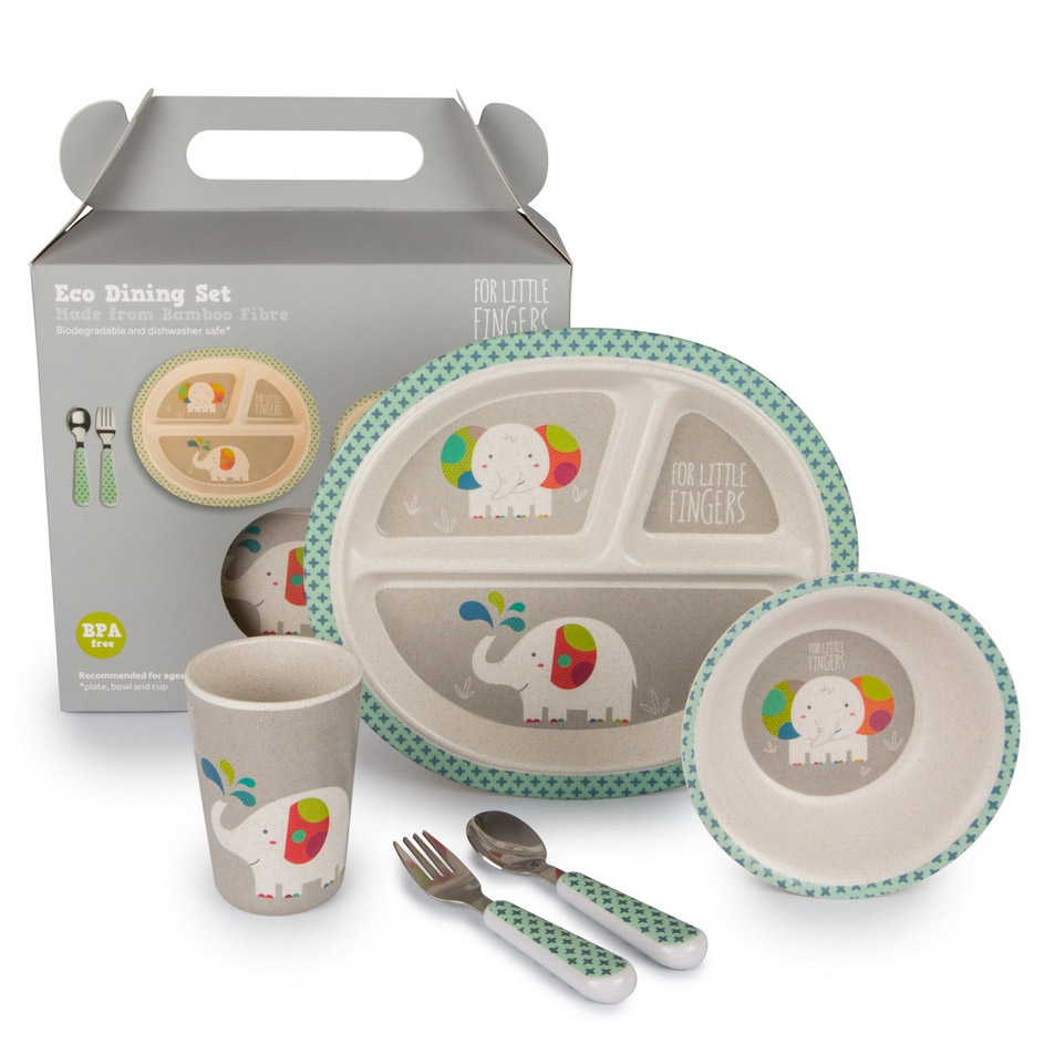 Set repas Eléphant For Little Fingers