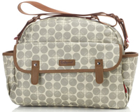 Sac à langer Molly Floral Dot Grey BABYMEL