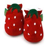 Chaussons souples FUNKY FEET Strawberry