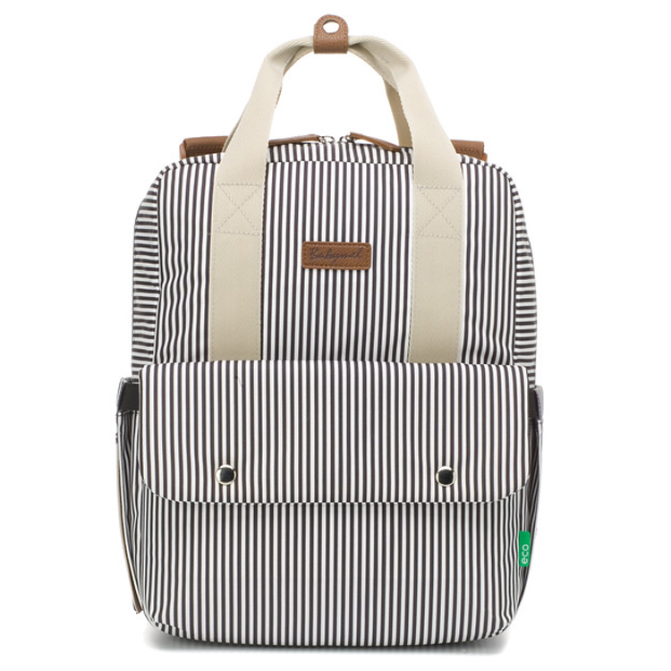 Sac à dos à langer Georgi ECO Navy stripes